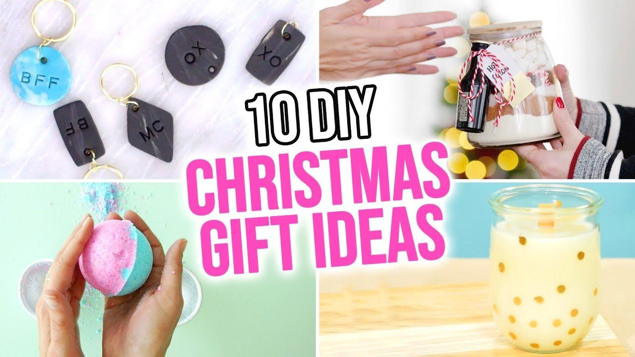 10 Diy Christmas Gift Ideas Hgtv Handmade Youtube
