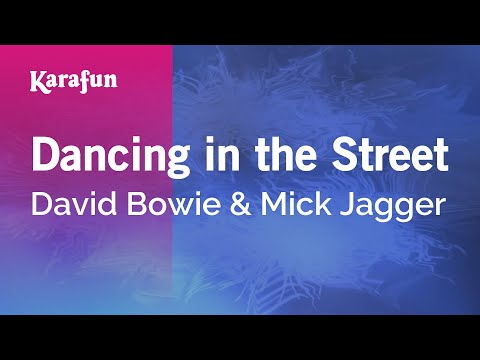 Karaoke Dancing In The Street - David Bowie *