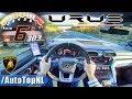 LAMBORGHINI URUS 300km/h+ AUTOBAHN POV by AutoTopNL