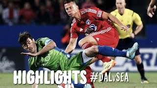 HIGHLIGHTS: FC Dallas vs. Seattle Sounders | November 2, 2014