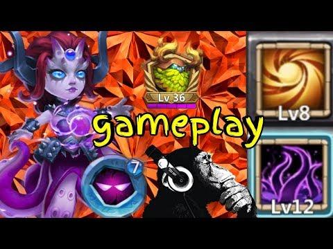 Cirrina | Sacred Light | Unholy Pact | Gameplay | Castle Clash