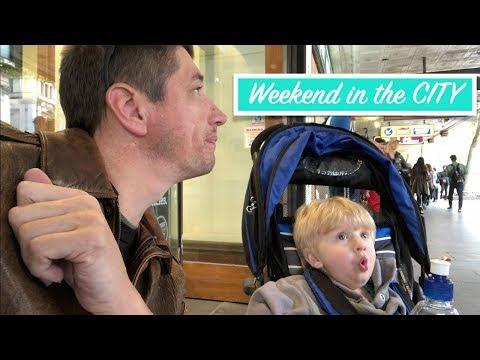 Weekend In Melbourne CBD - Part 1 | Australian Family Vlog