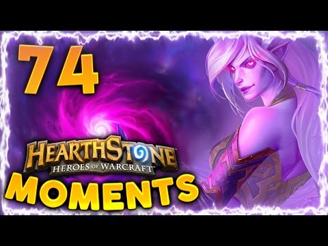 Hearthstone Daily Funny and Lucky Moments Ep. 74 | Embrace the Shadow