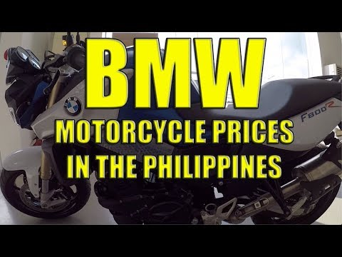 BMW Motorcycle Prices In The Philippines.