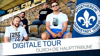 Darmstadt 98 | Digitale Tour durch die Haupttribüne