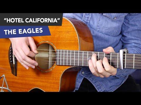 Hotel California INTRO Guitar Lesson - Eagles