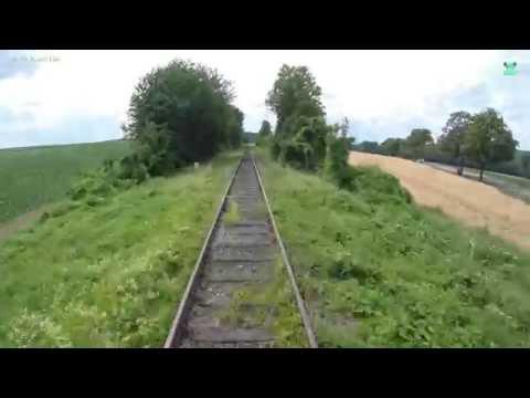 Führerstandsmitfahrt bei der ZELLERTALBAHN von Monsheim nach Kaiserslautern Hbf - DB Bahn