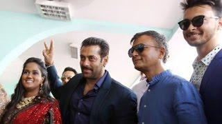 Salman khan & family attends arpita khan's reception in himachal pradesh