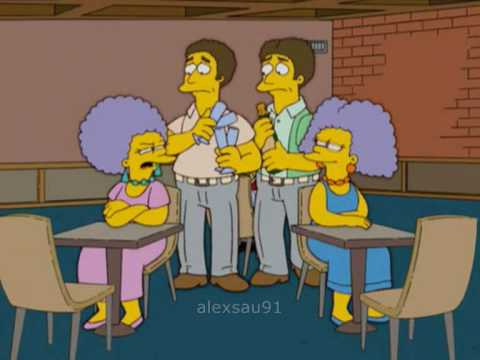The Simpsons: Marge speed dating