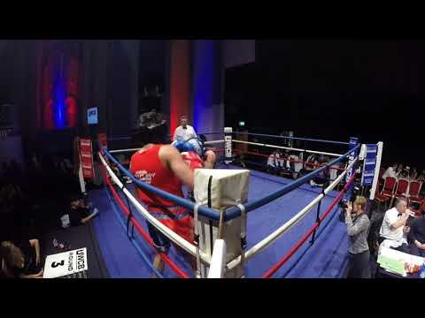 Ultra White Collar Boxing | London | Ring 1 | Jodel Hanson Ahmed VS Krisztian Martin