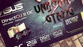 Unboxing и установка Видеокарты Asus GTX770-DC2OC-2GD5(Покупал в сети компании DNS за 13950 рублей. Купить ..., 2014-09-21T13:58:11.000Z)