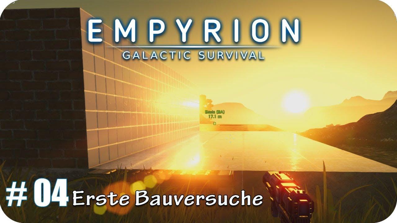 Empyrion – Die ersten Schritte zur neuen Base – Hausbau mal anders ...