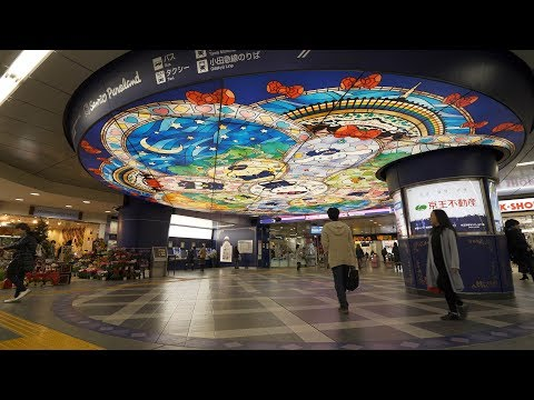 【4K】Hello Kitty town - Tama city illumination