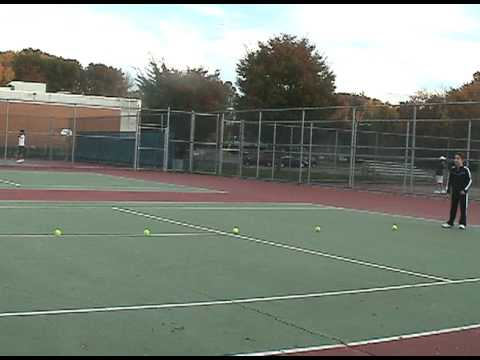 Talia Shapira Tennis Lesson October 2009 clip1