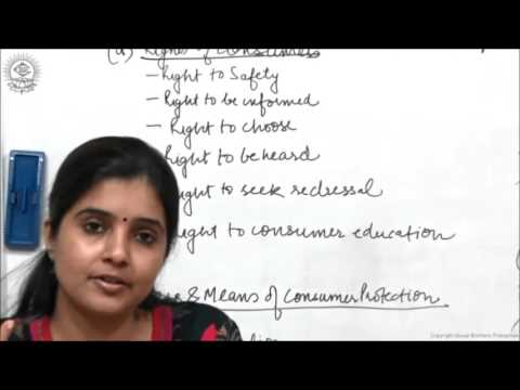 Consumer Protection Act 1986 Class XII Business Studies by Ruby Singh