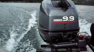 Yamaha 9.9hp+Yam 265s brzina Kokin Brod