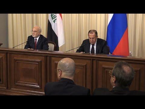 لافروف يدعو إلى الحوار بين بغداد وإقليم كردستان العراق