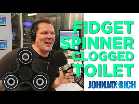 In-Studio Videos - There's A Fidget Spinner Clogging The Toilet?!?!?!