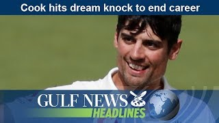 Cook hits dream knock to end career - GN Headlines