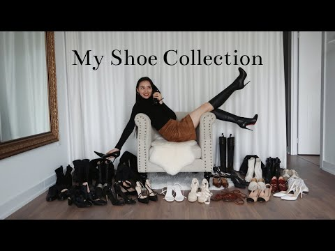 My Entire Shoe Collection And Try On 2020