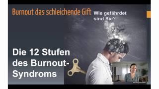 Die 12 Stadien des Burnout-Syndroms