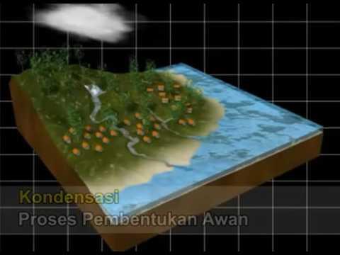 Simulasi 3 Dimensi Siklus Hidrologi