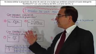 Cálculo del tamaño de una muestra 1 . SELECCIONAR MOSTRAR MÁS