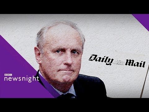 Paul Dacre's legacy as Daily Mail editor: Discussion - BBC Newsnight
