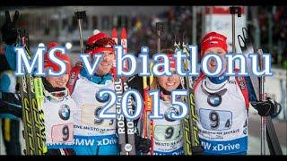 MS v biatlonu 2015-česká smíšená štafeta-zlato