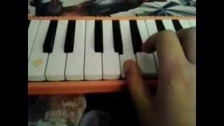 Güzel köylü melodika notaları