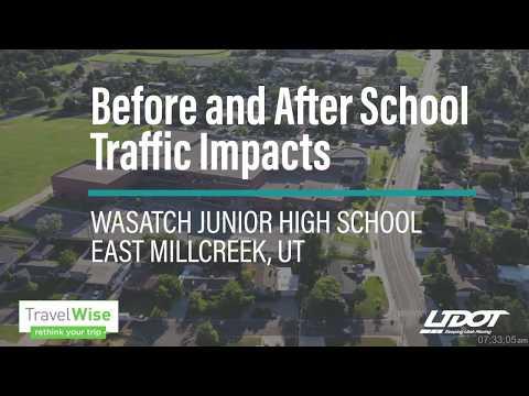UDOT - Wasatch Junior High School Traffic Impacts