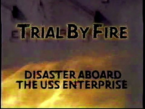"USS Enterprise CVAN65 ""Trial by Fire"" video, 14Jan1969"