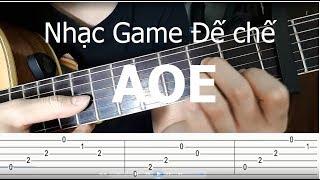 Hướng dẫn: Nhạc Game Đế Chế (AOE Rise Of Rome Guitar Tutorial) Level 1