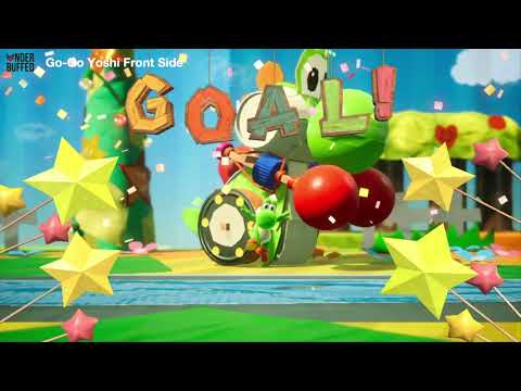 [Yoshi's Crafted World] Go-Go Land - All Smiley Flowers, Red Coins, Crafts