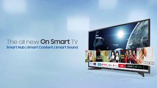 Samsung On Smart 43 Full HD LED Smart TV 2018 Edition (43N5300) - ₹42,999 Limited Period