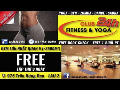 Club24- Fitness & Yoga - 975 Trần Hưng Đạo
