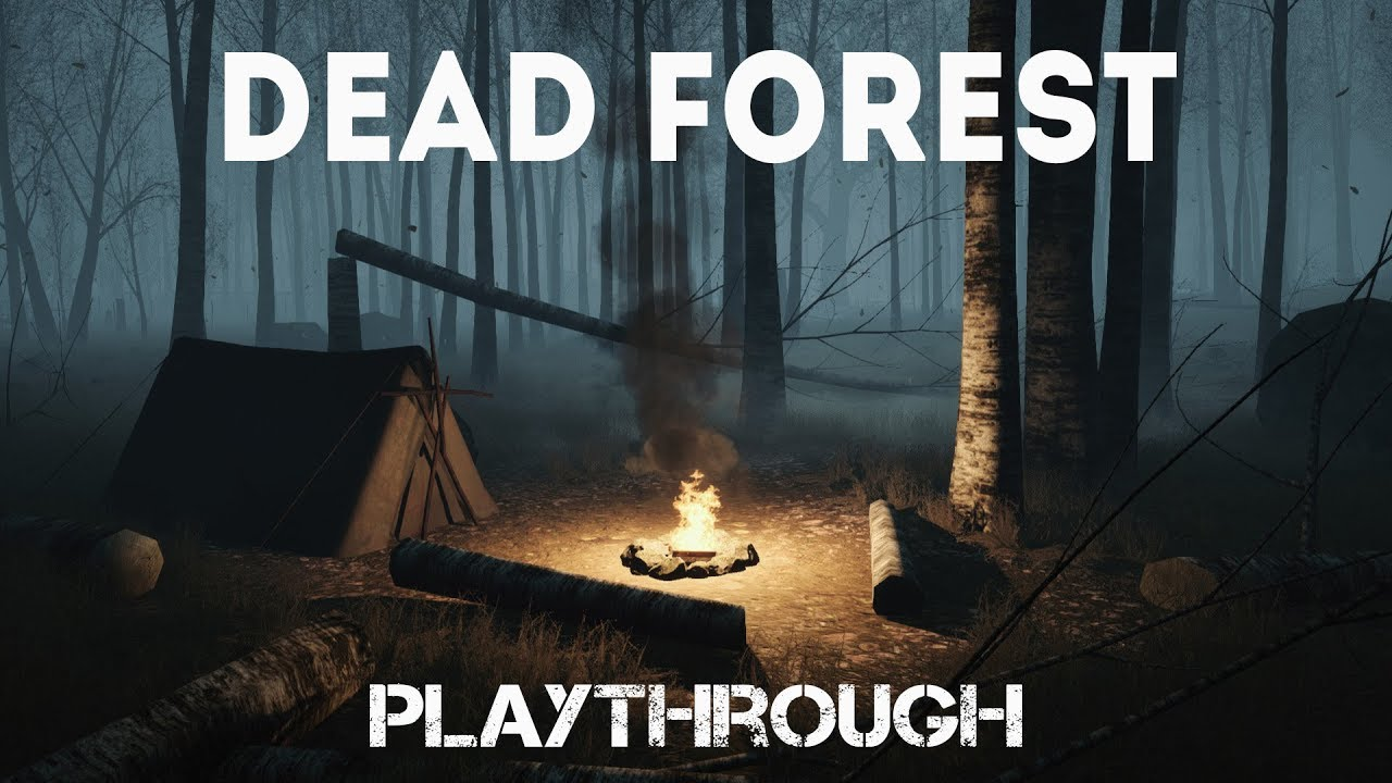 Dead Forest - Playthrough (first person mystical thriller)