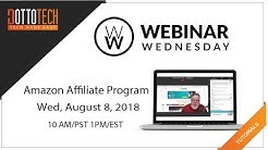 Getting Started with the Amazon Affiliate Program - Webinar Replay - WW66