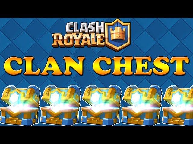 Clash Royale #106 - ОТВАРЯМ 5 КЛАН ЧЕСТА