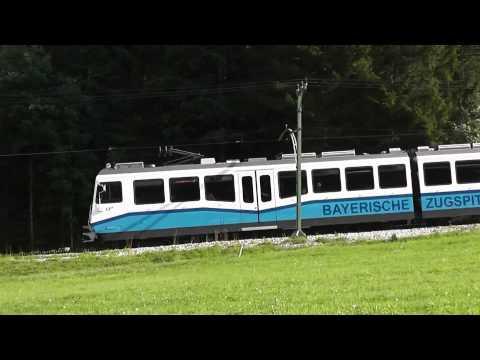 Eisenbahn-Europa - Zugspitzbahn - Garmisch-Partenkirchen -- Zugspitze