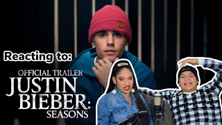 Reacting to JUSTIN BIEBER's Seasons | Official Trailer Ft. Yummy | YouTube Originals|REACTION VIDEO