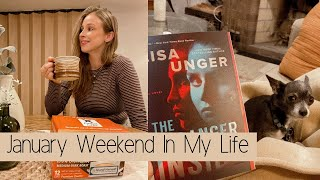 January Weekend In My Life: Pintail Coffee, New Dump Cake Recipe, and More Yoga!