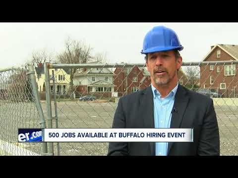 More than 500 jobs available at Buffalo on-site hiring event