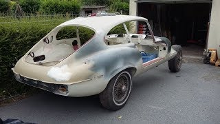 Restoration of a 1971 Jaguar E Type (part 2): V12 engine and more bodywork