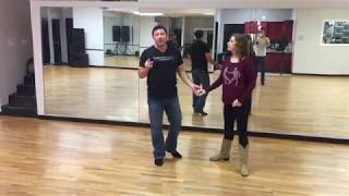 Nightclub Two-Step lessons online with D'Amico Dance Level 2 workshop 4/21/18