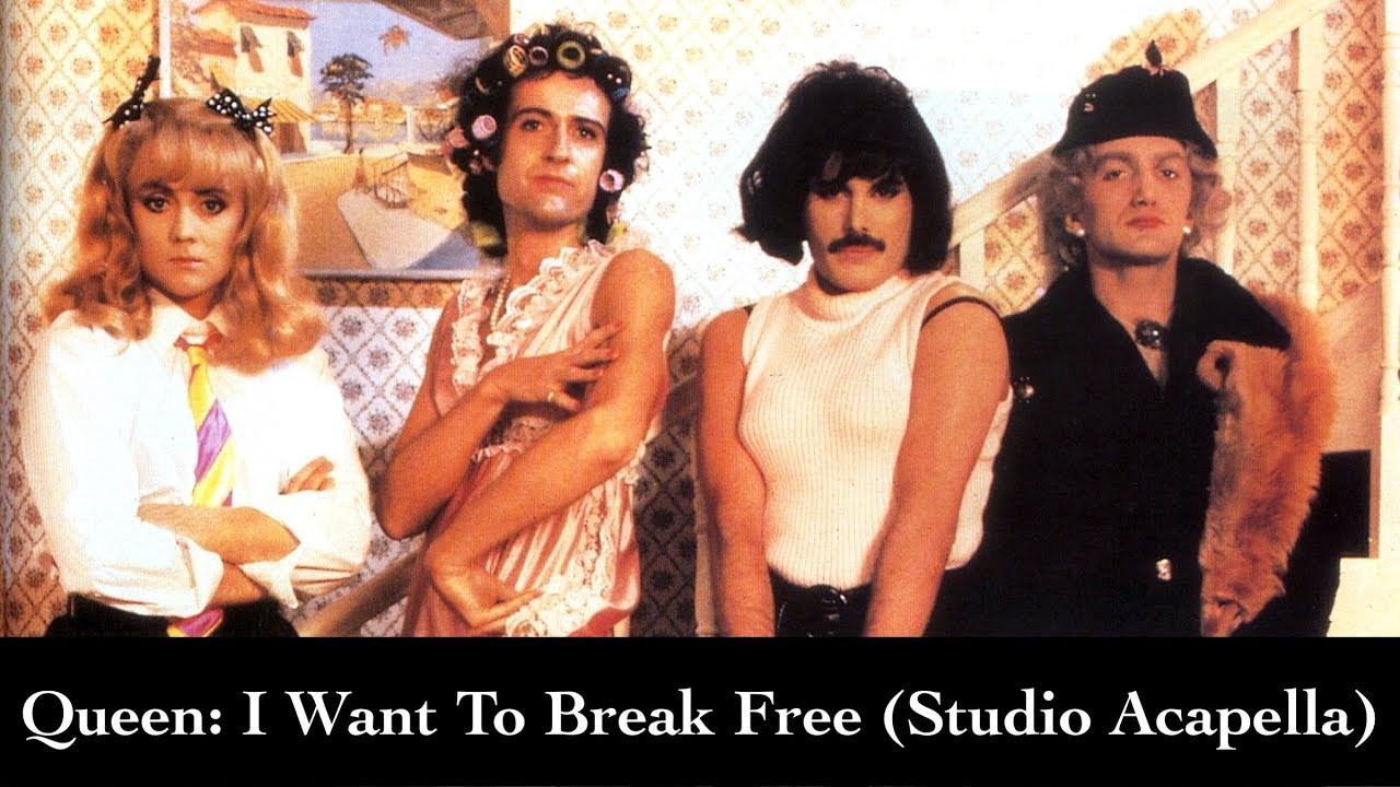 i want to break free video