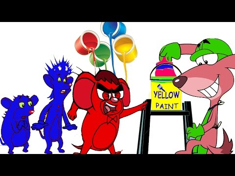 Painted Mice Brothers |Thursday Thirst | Rat A Tat | Funny Cartoon Videos for Children | Chotoonz TV