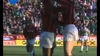 Italian Serie A Top Scorers: 1989-1990 Marco Van Basten (Milan) 19 goals