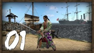 [1] Way of the Samurai 4 (PC) - Samurai Akihiko Takeaki