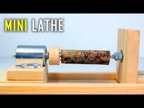 How To Make a Mini Lathe Machine